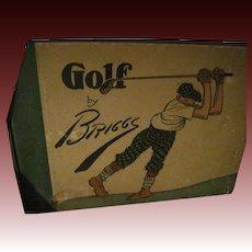 Rare 1916 Golf Cartoons by Briggs