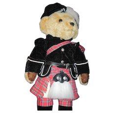 "18"" Merry Thought Harrods England Scott Bear Free P&I US Buyers"