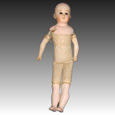 """14"""" Antique Belton T doll for Parts or restorations Free P&I US Buyers"""