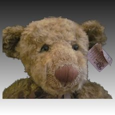 """Adorable 24"""" Russ Barrie ltd ed signed bear Free P&I US Buyers"""