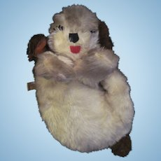 "12"" Sleepy Head Mohair Sweet Knickerbocker Puppy Dog Free P&I US buyers"