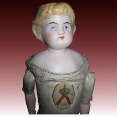 "15"" Bisque Head doll Kestner Body Free P&I US Buyers"