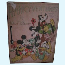 1939 HankyVentures Walt Disney Productions NO HANKIES Free P&I US Buyers
