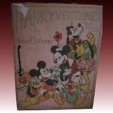 1939 HankyVentures Walt Disney Productions NO HANKIES Free P&I US Buyers