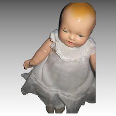 """13"""" Sweet Composition Effanbee Bubbles Baby Doll Free P&I US Buyers"""
