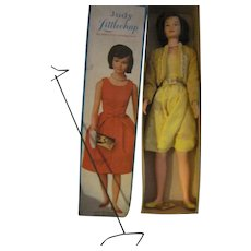 Remco Judy Littlechap ,doll ,box stand  Free P&I US Buyers