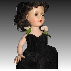 Lovely AC Walker doll with beautiful dress Free P&I US Buyers!