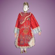 "Beautiful 10"" Chinese Opera Doll Free P&I US Buyers"