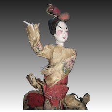 "Unique 9"" Chinese Opera Doll   Free P&I US Buyers!"