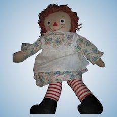 """19"""" Georgene Raggedy Ann Doll  Free P&I US Buyers"""