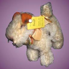 "Wonderful 4"" Steiff Foxy  Dog Free P&I US Buyers"