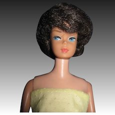 Vintage Brunette Bubble Cut Barbie doll Free P&I US Buyers