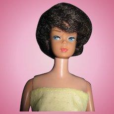 Vintage Brunette Bubble Cut Barbie doll Free P&I US Buyers