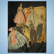 Partial set Gone With the Wind paper dolls Free P&I US Buyers Free P&I US Buyers
