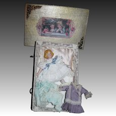 Sweet Doll house doll  with Miniatures Free P&I US Buyers