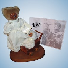 1990 Raikes Mothers Day Teddy Bears ltd Free P&I US Buyers