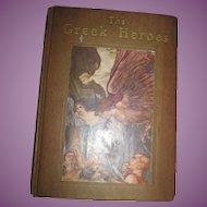 The Greek Heroes illus Arthur Rackham Free P&I US Buyers