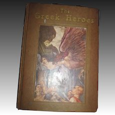 The Greek Heroes illus Arthur Rackham Free P&I US Buyers