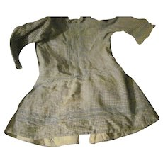 Great look drop waist dress for larger  China or Bisque doll Free P&I US buyers