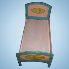 Nice Chein Metal Red Ridding Hood Doll bed Free P&I US Buyers