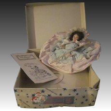 HTF Hollywood doll Little Shepherdess box & booklet fre P&I US Buyers