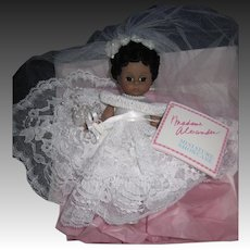 "Madame Alexander 8"" Bride Doll Free P&I US Buyers"