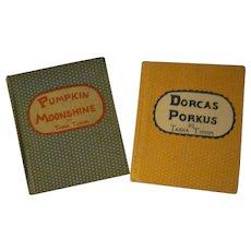 4th printing Tasha Tudor Pumpkin Moonshine 1942 Dorcas Porkus