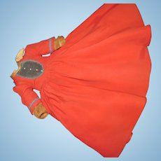 Vintage Madame Doll  tagged Dress for JO  Free P&I US buyers!