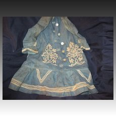 Wonderful Antique Dress For China or bisque Doll Needs a Seamstress Free P&I US Buyers