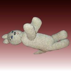 Sock Kitty Cat meow!  Free P&I US Buyers!