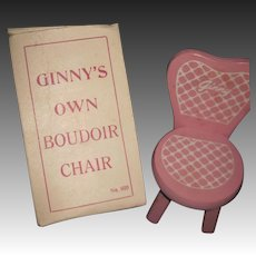 Voque MIB  Ginny Doll Chair Free P&I US Buyers