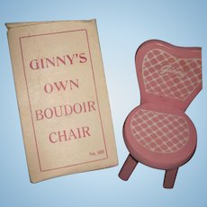 Voque MIB  Ginny Doll Chair Free P&I US Buyers
