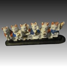 Adorable Miniature Crazy Cat Band Free P&I US Buyers