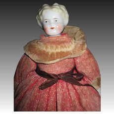 "11.5"" Blonde China Doll Free P&I US Buyers"