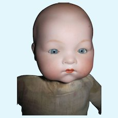 """15"""" German Bisque Baby Doll Free P&I US Buyers"""
