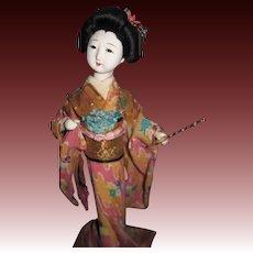 Vintage Asian Doll Free P&I US Buyrs!