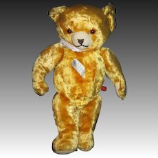"Adorable 12"" Knickerbocker Musical Teddy Bear  Free P&I US Buyers"