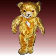 "Adorable 12"" Knickerbocker Musical Teddy Bear  Free P&I US Buyers"