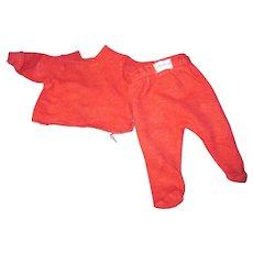 "1950's Nitey Night Pajamas for 11"" Tiny Tears Doll Free P&I US Buyers!"