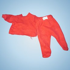 "1950's Nitey Night Pajamas for 11"" Tiny Tears Doll Free P&I US Buyers!"