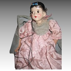 Disney /Sarg Madame Alexander Snow White Marionette Free P&I US Buyers