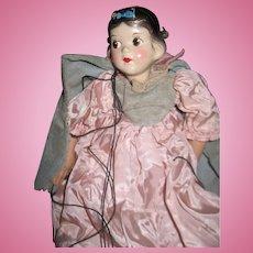 Disney /Sarg Madame Alexander Snow White Marionette Free P&I US Buyers