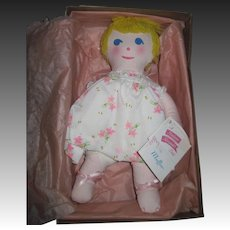 Madame Alexander MIB Cloth Muffin Doll Free P&I US Buyers