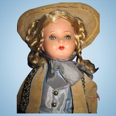 "14"" German Gura Celluloid Doll , you will love the outfit! Free P&I US Buyers!"
