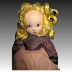 "12"" Madame Alexander Little Shaver Doll reoair ir parts  Free P&I US Buyers"