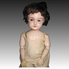 "20"" SFBJ 301 Paris French doll Free P&I US Buyers"