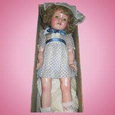 1936 Ideal I De Lite Doll w/Box Shirley  Free P&I US Buyers