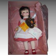 1988 Ltd ed FAO Swartz Madame Alexander Brooke Doll w/Steiff Teddy Free P&I US Buyers