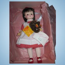 1988 Ltd ed FAO Swartz Madame Alexander Brooke Doll w/Steiff Teddy Free P&I US Buyers