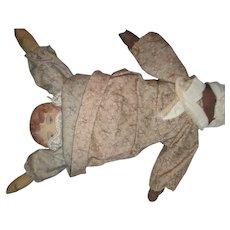 MIB Topsy Turvy Cloth Doll By Talbott's Galion Ohio Free P&I US Buyers